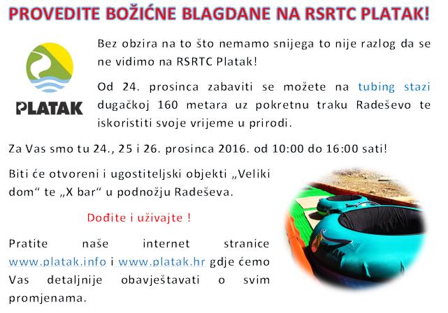 Provedite Božićne blagdane na RSRTC Platak