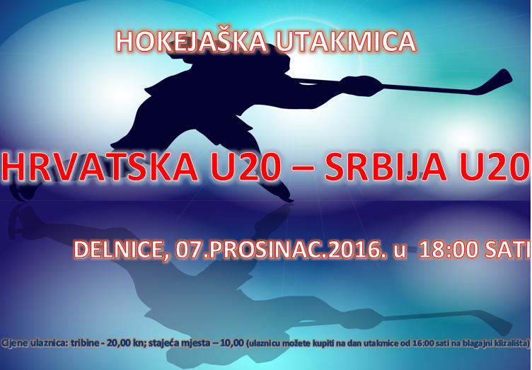 OBAVIJEST NAVIJAČIMA I GLEDATELJIMA ZA HOKEJAŠKU UTAKMICU HRVATSKA U20 – SRBIJA U20
