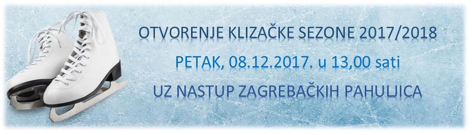 ZAGREBAČKE PAHULJICE OTVARAJU KLIZAČKU SEZONU 2017./2018. U DELNICAMA